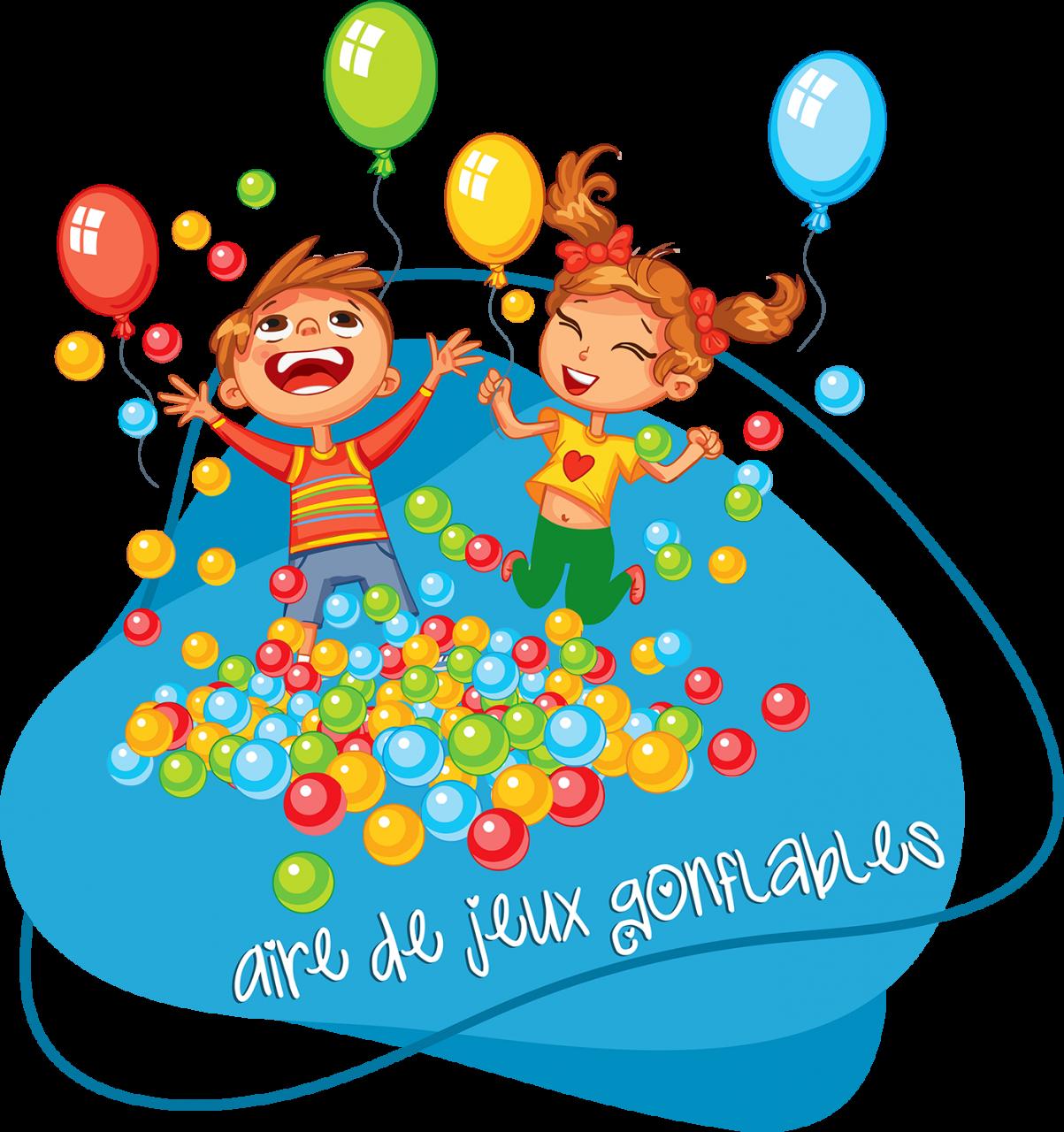 Aire de jeux gonflables