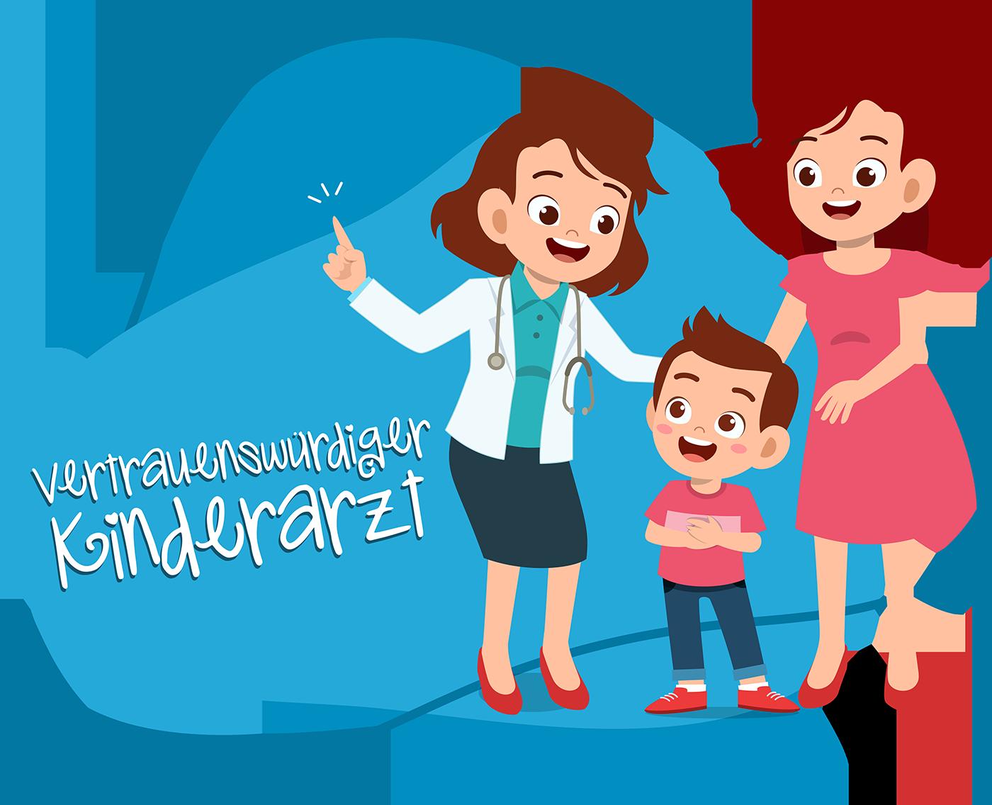 Vertrauenswürdiger Kinderarzt