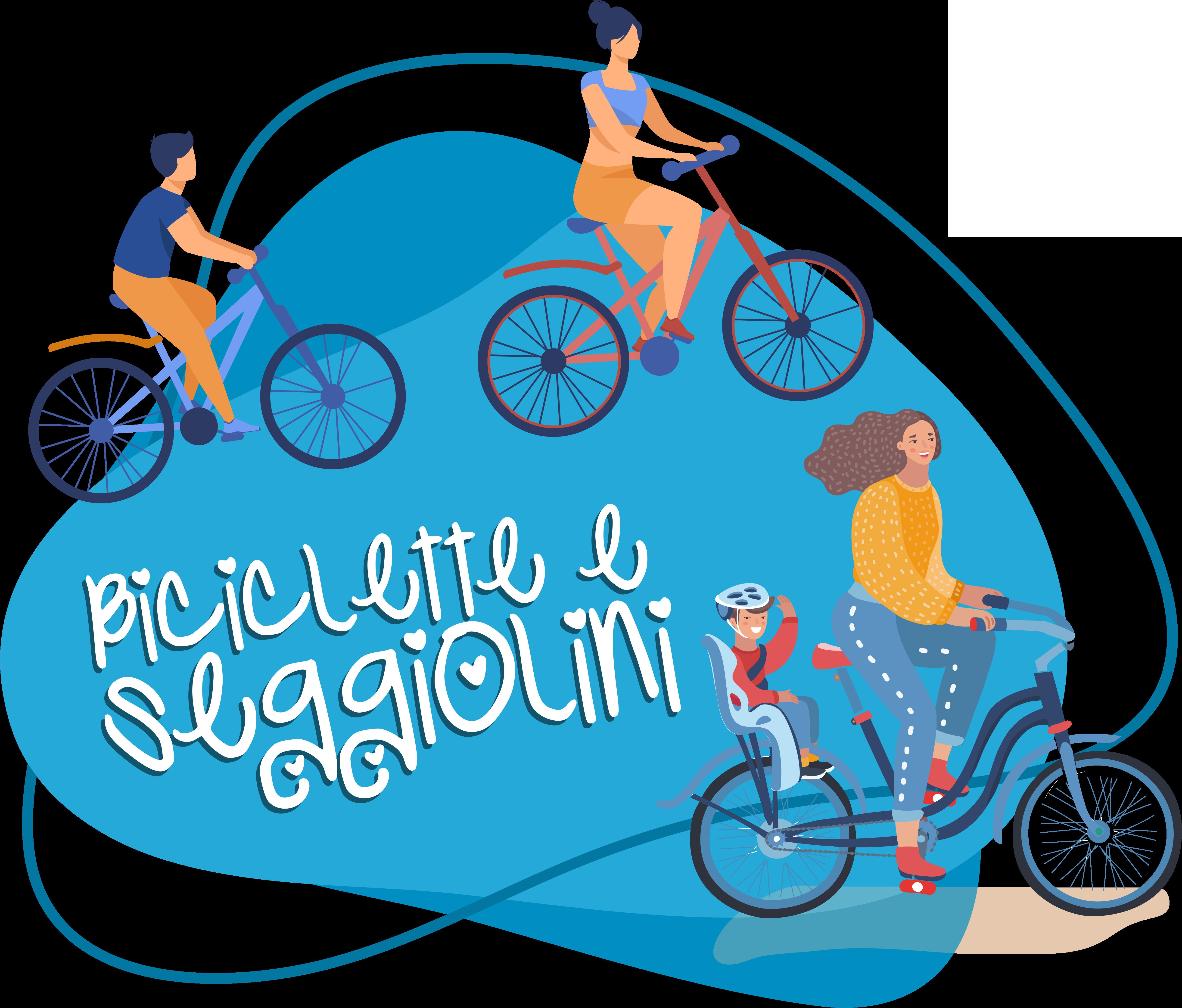 Biciclette con seggiolini