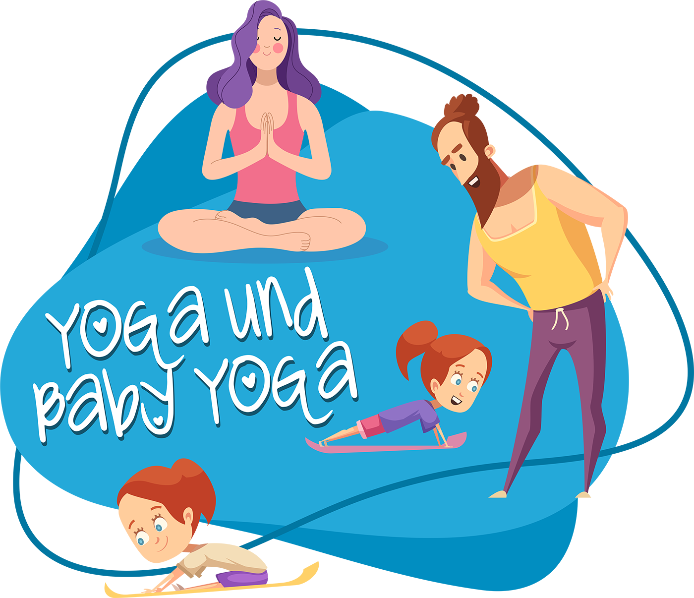 Yoga und Baby Yoga