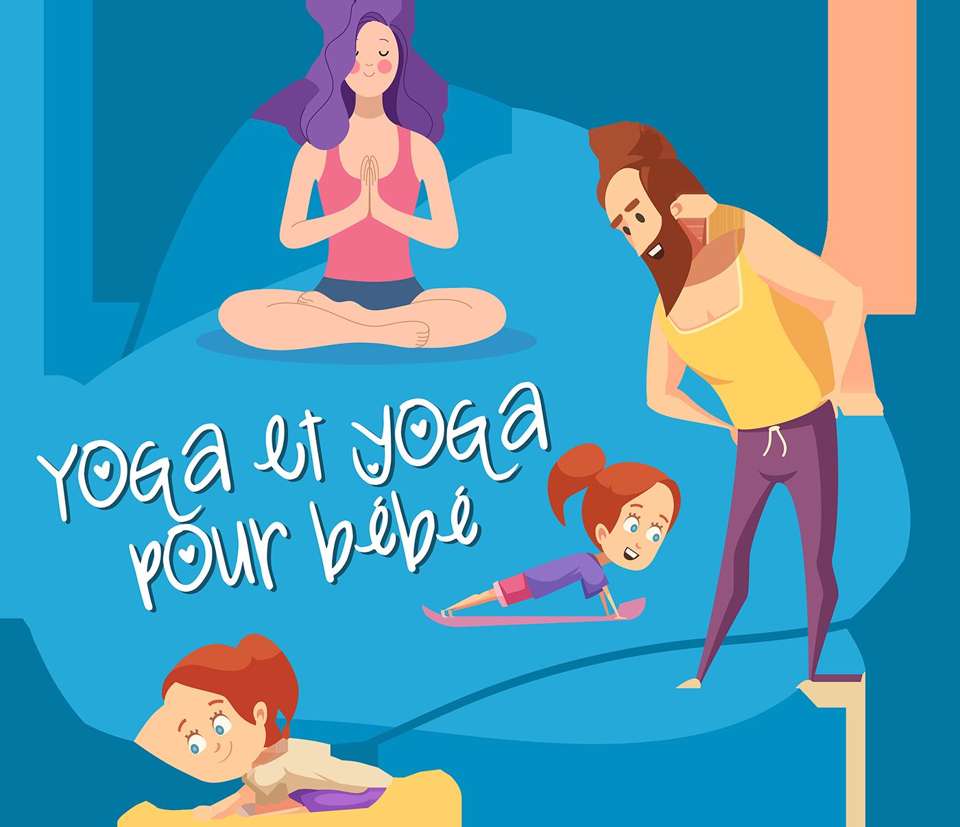 Yoga et yoga pour bébé